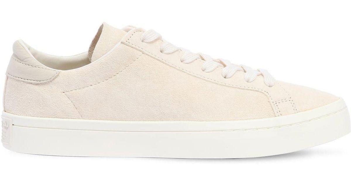 adidas original court vantage beige