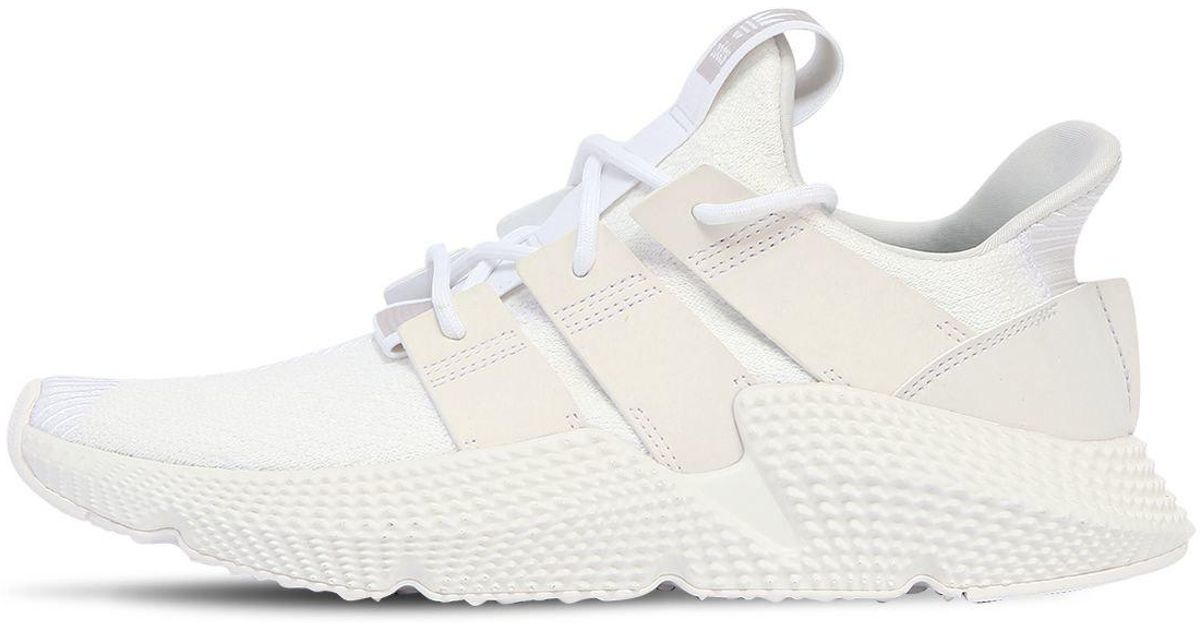 new arrivals cf86f 418b8 adidas Originals Prophere Sneakers in White for Men - Lyst