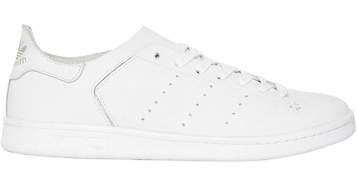 b0d9ff417 adidas Originals Stan Smith Leather Sock Sneakers in White for Men - Lyst