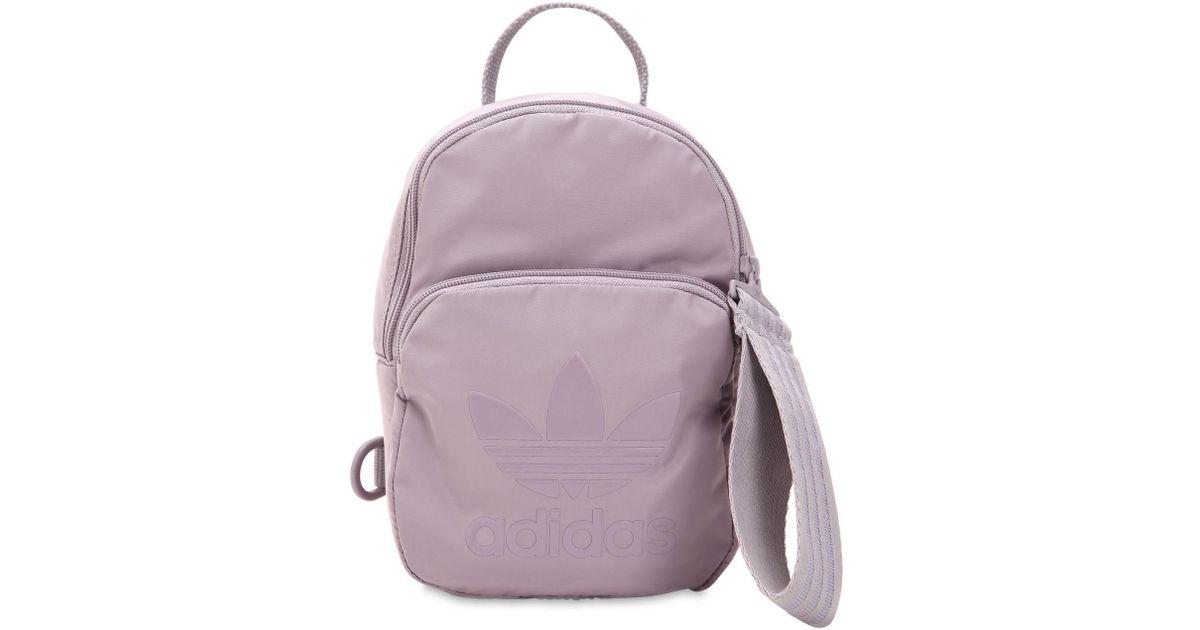 Color Purple Mochila Pequeña Techno Originals Extra De Adidas xBoeWQCrd