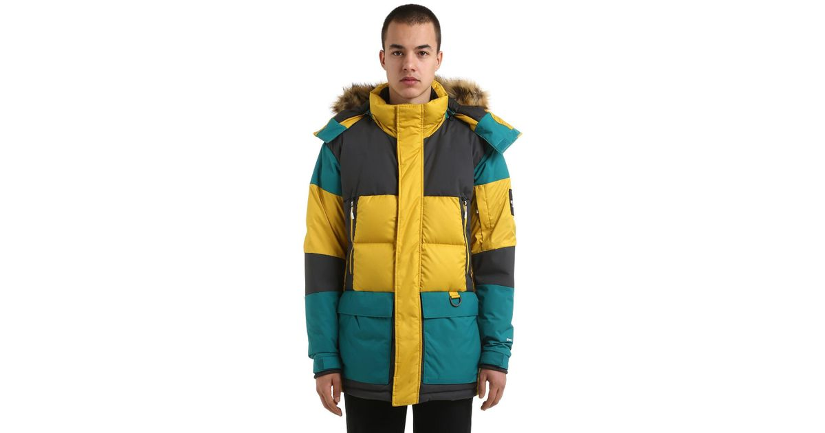 d1517c049 The North Face Multicolor Vostok Parka Leopard Yellow for men