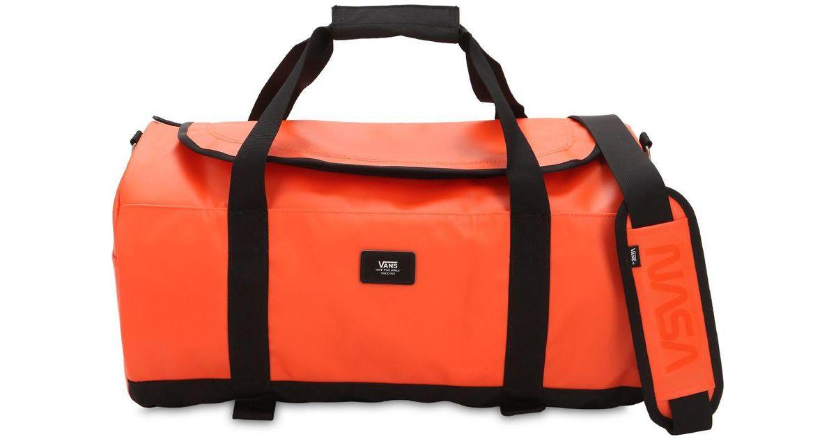 Vans Orange Luggage for men