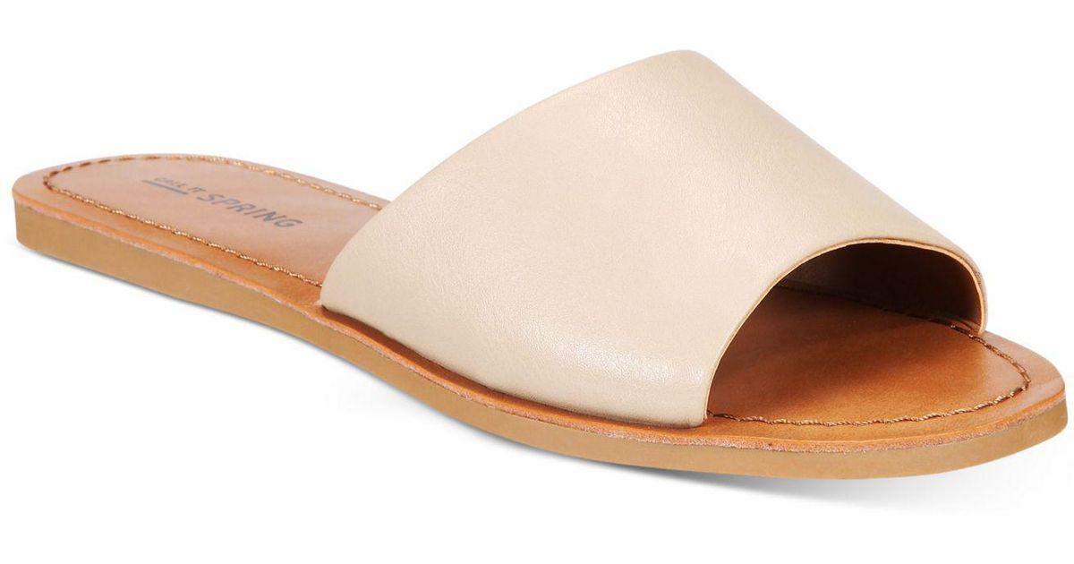 48ec09900 Lyst - Call It Spring Thirenia Flat Slide Sandals