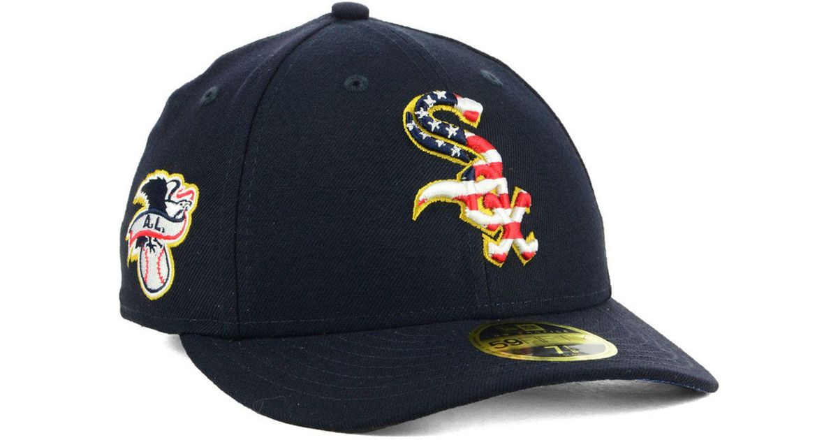 exquisite style presenting order online KTZ Synthetic Chicago White Sox Stars And Stripes Low Profile ...