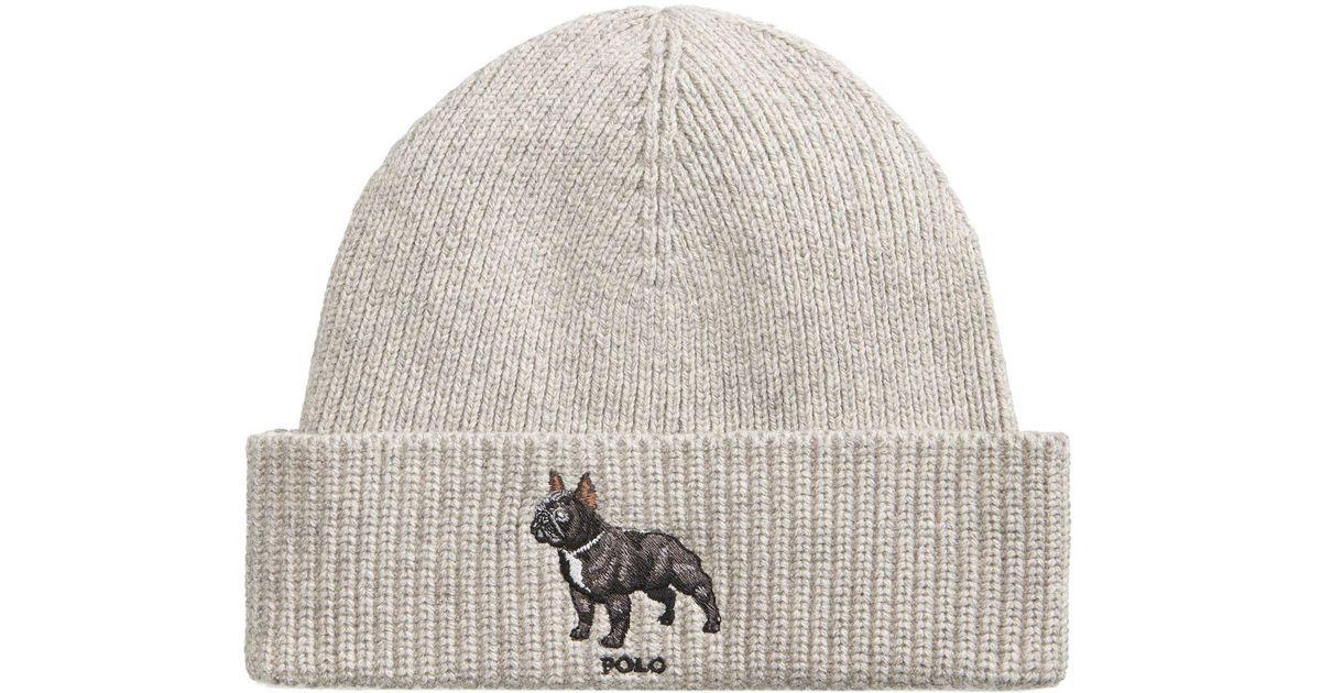 Lyst - Polo Ralph Lauren Men s French Bull Dog Hat in Gray for Men 75637871319