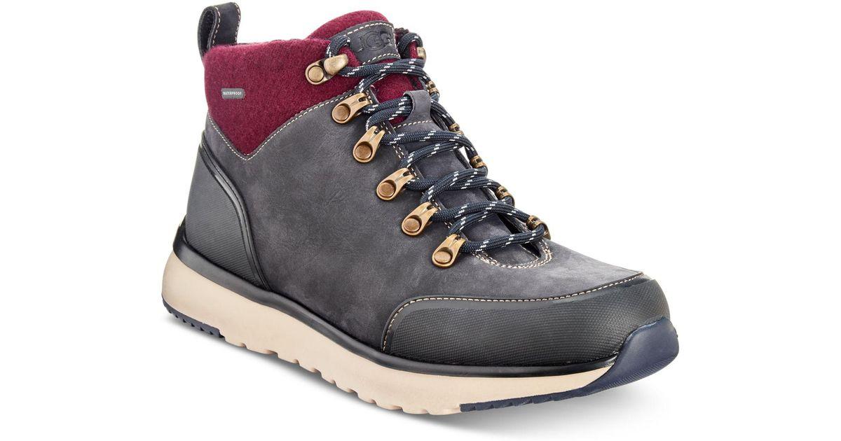 9344a36f17e Ugg Blue Olivert Waterproof Boots for men