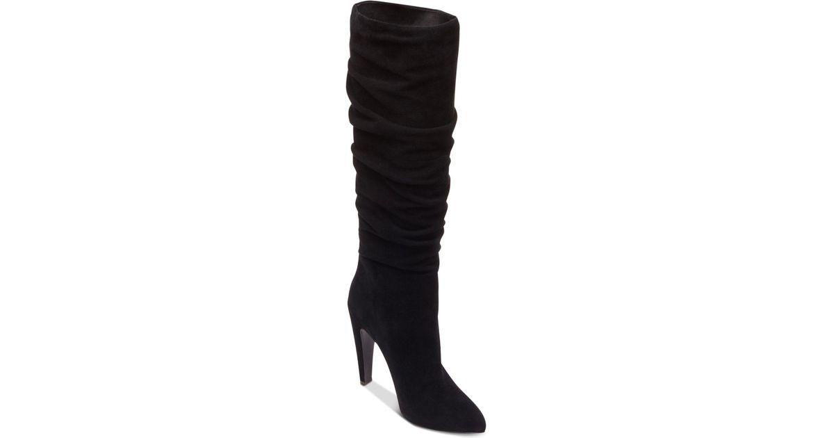 6e467ff7b58 Steve Madden Black Women's Carrie Slouchy Boots