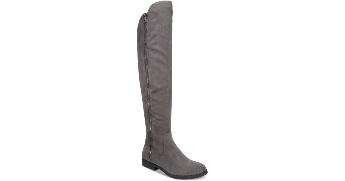 673fd707ff3 Lyst - Style   Co. Hadleyy Over-the-knee Boots in Gray