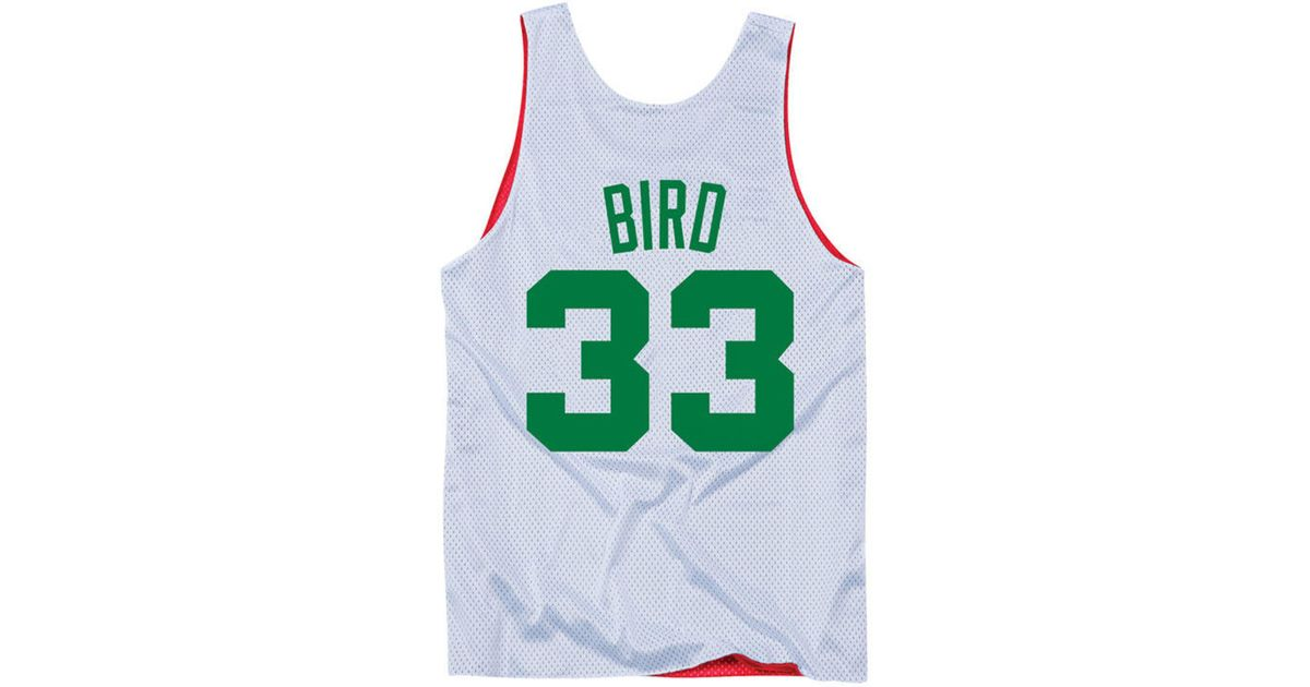 85292d355 Lyst - Mitchell   Ness Larry Bird Nba All Star Reversible Tank in Red for  Men