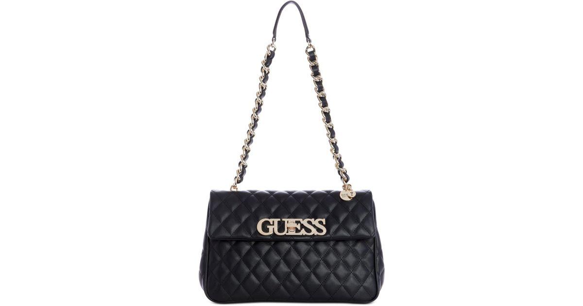 dde88ba5289 Guess Black Sweet Candy Flap Shoulder Bag