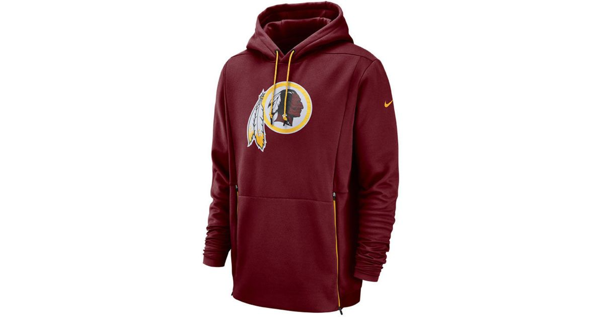 8e4c94f7 Nike Washington Redskins Sideline Player Therma Hoodie for men