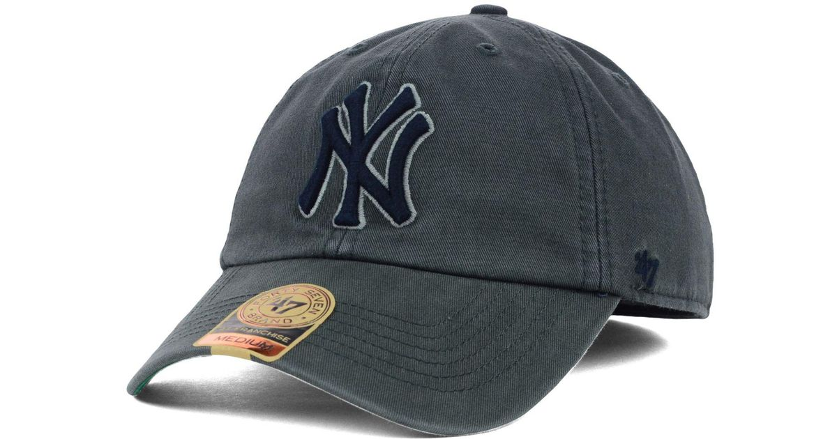 db554865753 ... uk lyst 47 brand new york yankees mlb hot corner franchise cap in black  for men