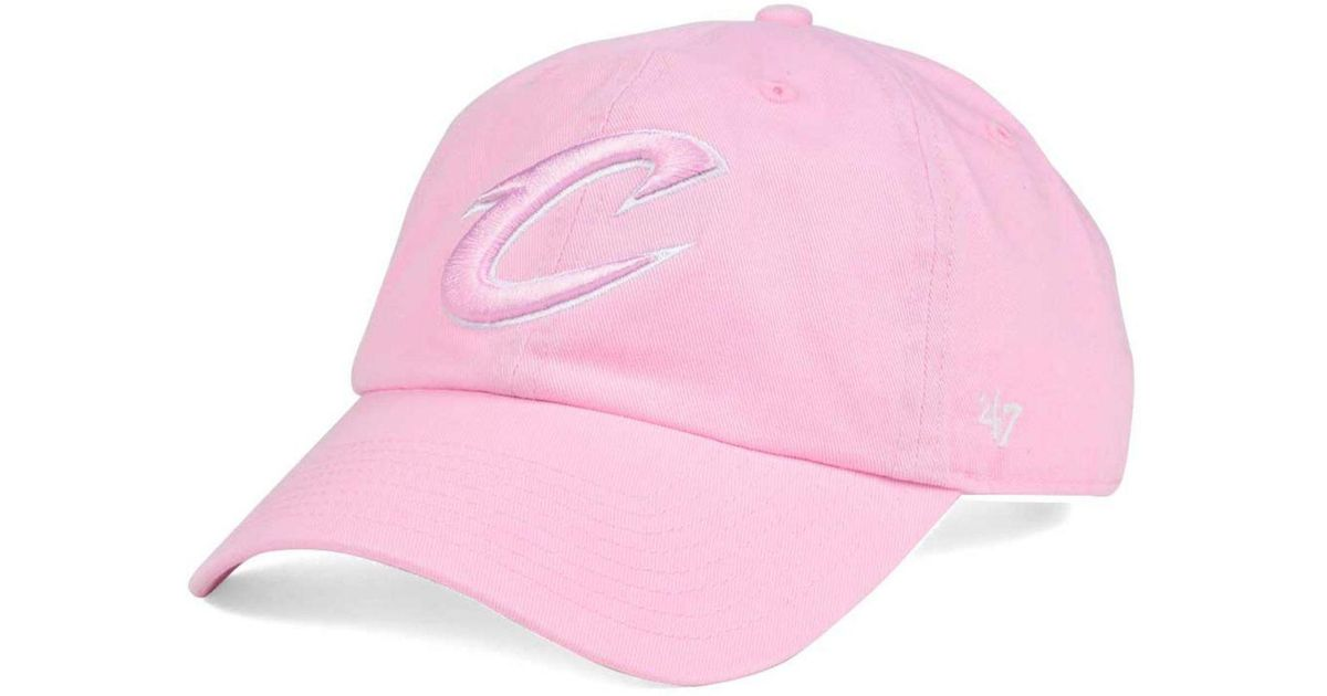 best website 97231 fb2cc ... wholesale lyst 47 brand womens petal pink clean up cap in pink d4054  4bc96