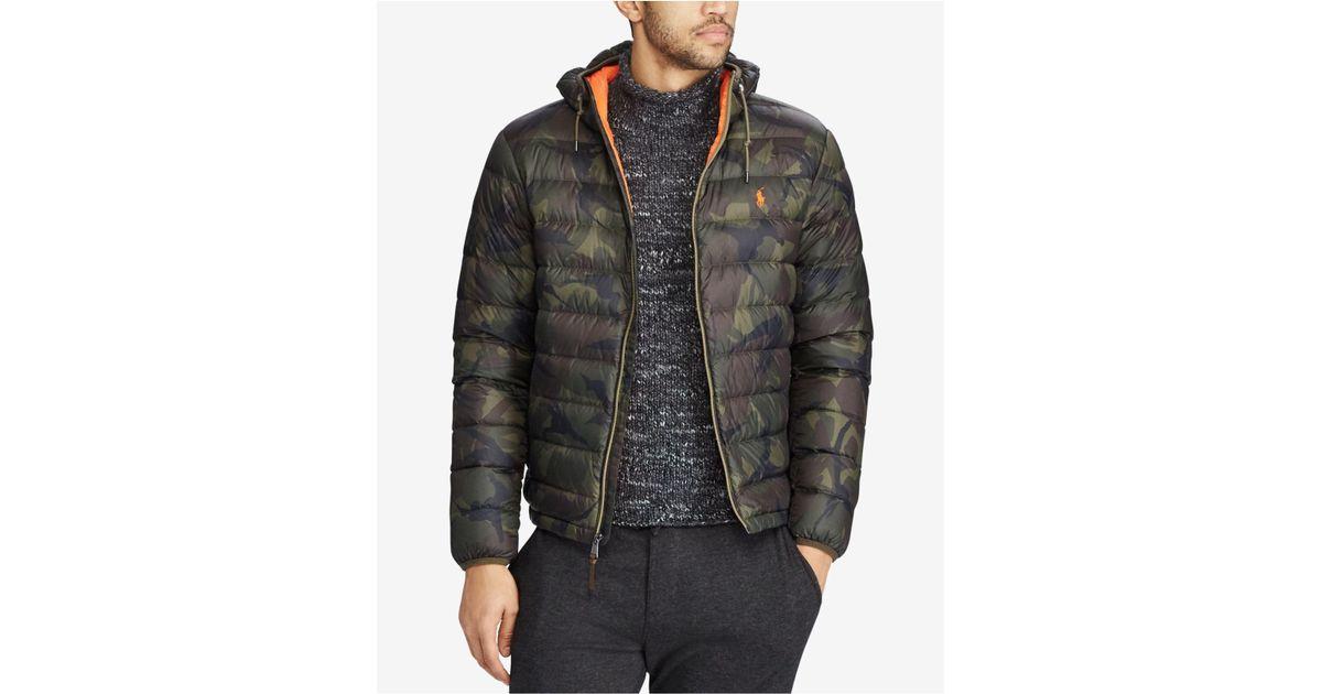 8bdfe68f Polo Ralph Lauren Multicolor Men's Packable Down Jacket for men