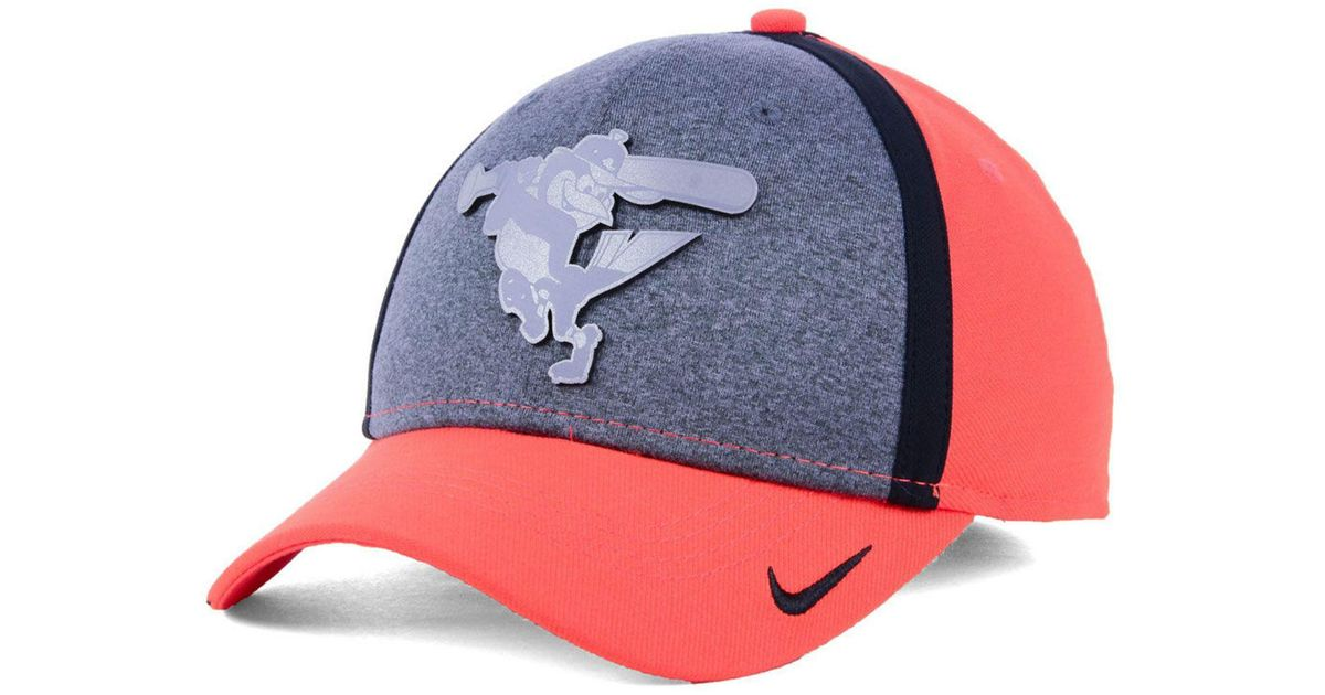 7368d1fb88e ... sale lyst nike baltimore orioles team color reflective swooshflex cap  for men 467c0 c7105