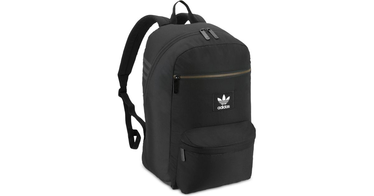 Lyst - adidas Originals National Plus Backpack in Black for Men 48b0d2e0a974a
