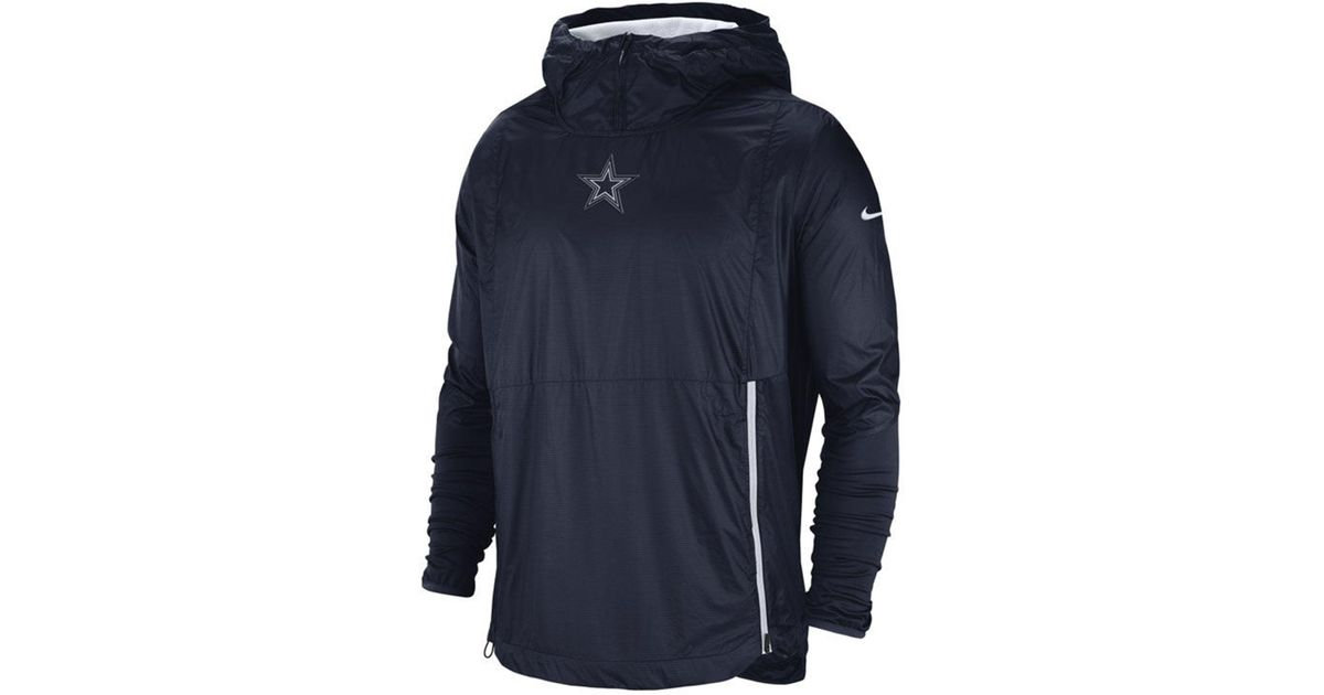 best authentic 49d6d af8c2 Nike Blue Dallas Cowboys Nfl Alpha Fly Rush Po Jacket for men