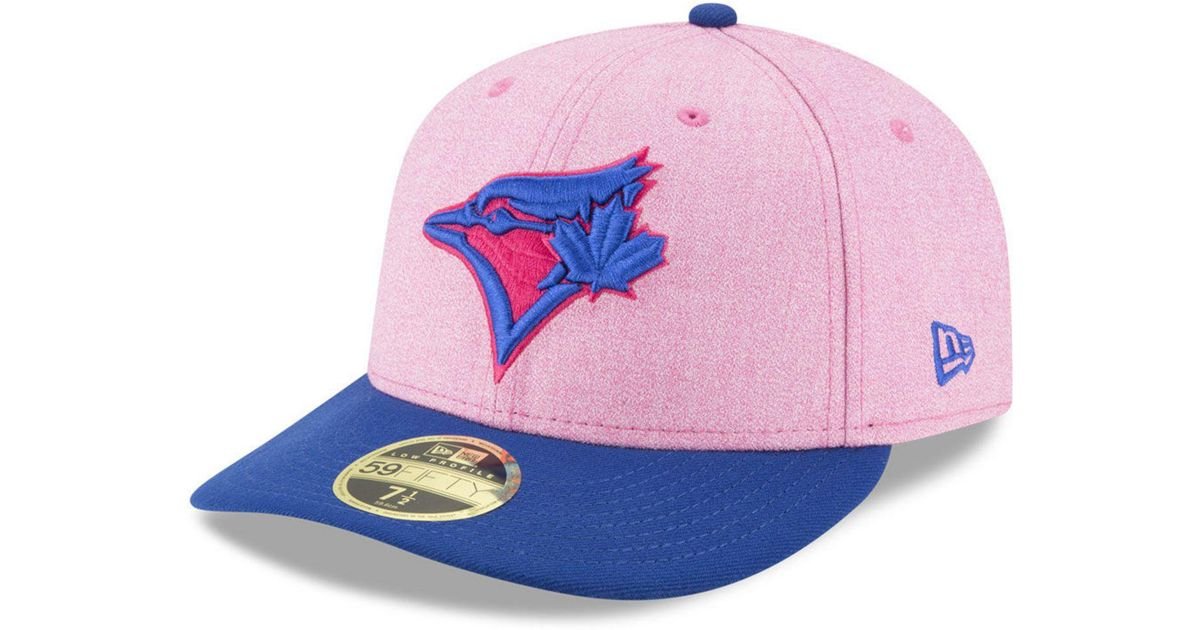 Silver Pink New Era 9Fifty Snapback Hat Toronto Blue Jays Gray Lava Red Lid