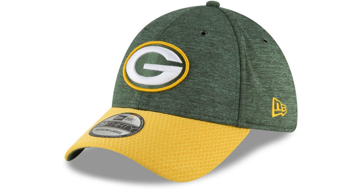 bf12a150ea0 Lyst - KTZ Green Bay Packers On Field Sideline Home 39thirty Cap in Green  for Men