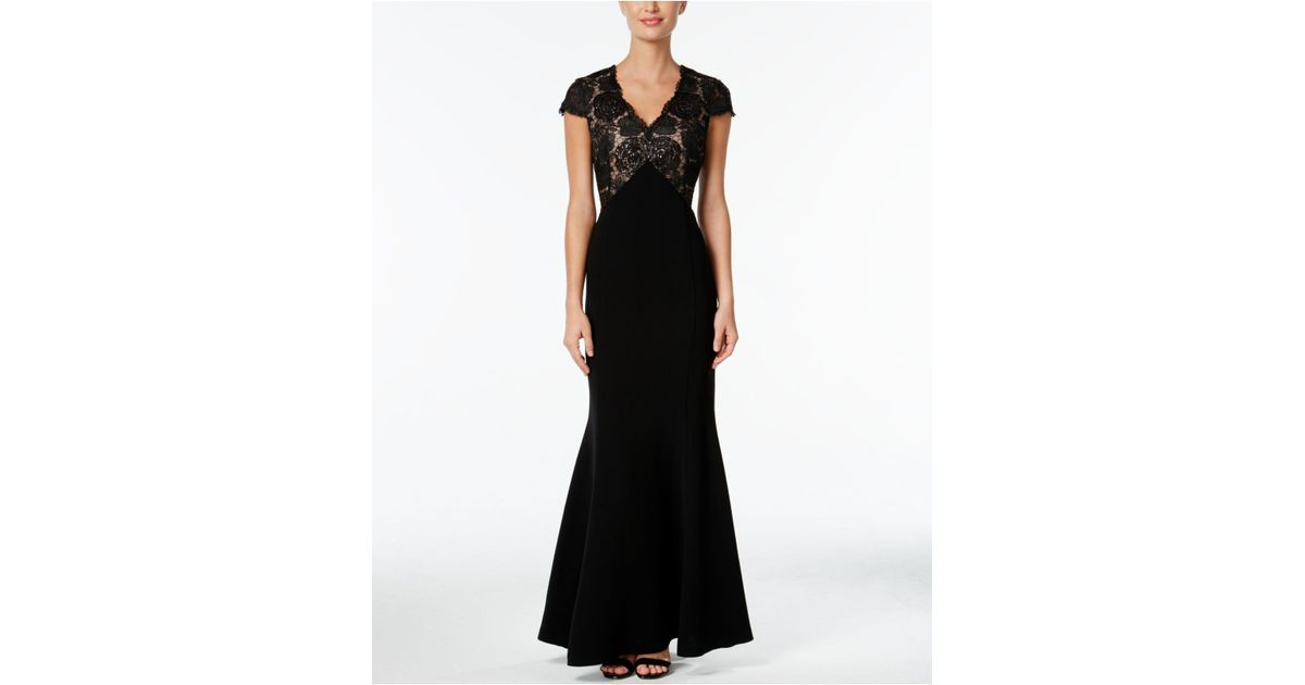 Plunging Sweetheart Lace Mermaid Gown Lyst - Orimono