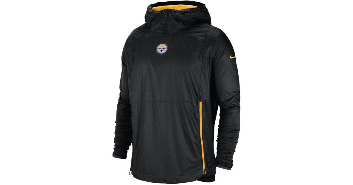 0ee6aa517c7fe Lyst - Nike Pittsburgh Steelers Lightweight Alpha Fly Rush Jacket in Black  for Men