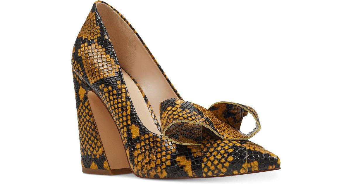 53cc5607d90 Nine West - Multicolor Haddriana Block-heel Pumps - Lyst