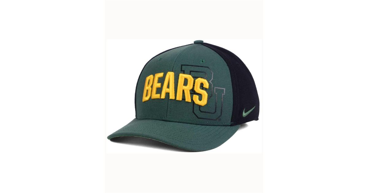 2311eb4411ff1 ... australia lyst nike baylor bears classic 99 swoosh flex cap in green  for men 70adf b4280