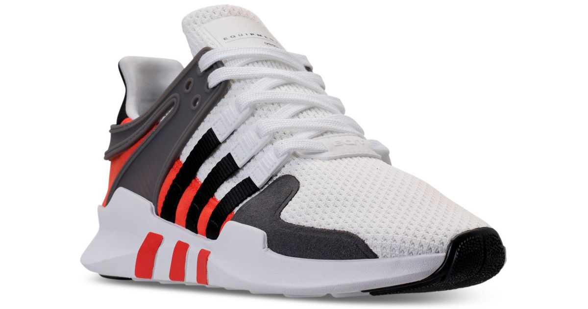 promo code 4e656 84ab8 Adidas Black Eqt Support Adv Casual Sneakers From Finish Line for men