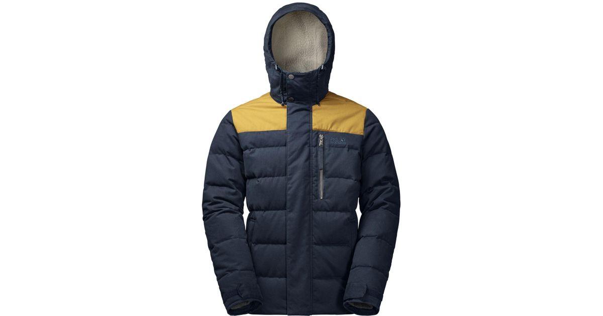 41a23ee0aeb Lyst - Jack Wolfskin Lakota Hooded Full-zip Jacket From Eastern Mountain  Sports in Blue for Men
