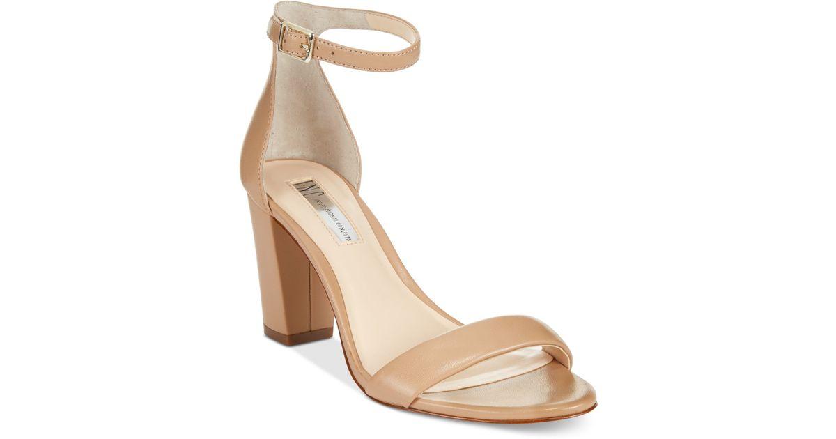 Inc International Concepts Kivah Block Heel Dress Sandals