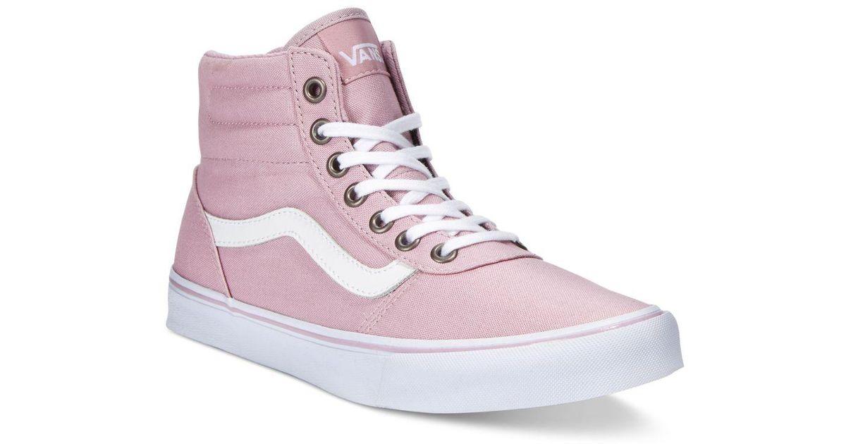 Vans Multicolor Women's Milton Hi Canvas High-top Sneaker