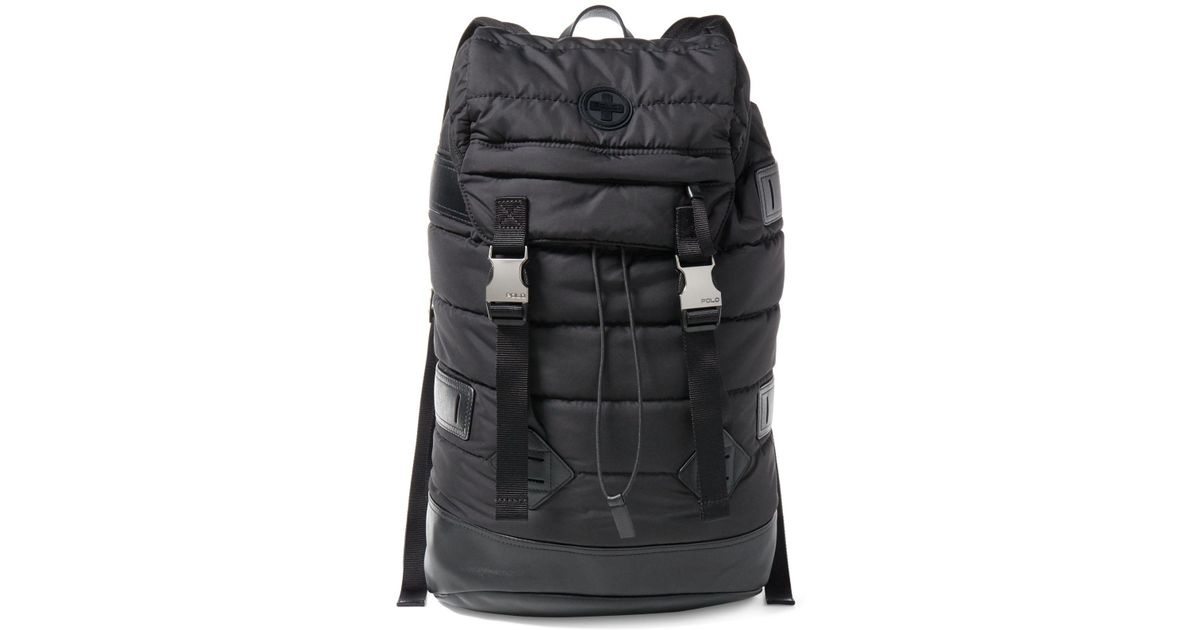 66f1e45ccabf Lyst - Polo Ralph Lauren Men s Alpine Quilted Backpack in Black for Men
