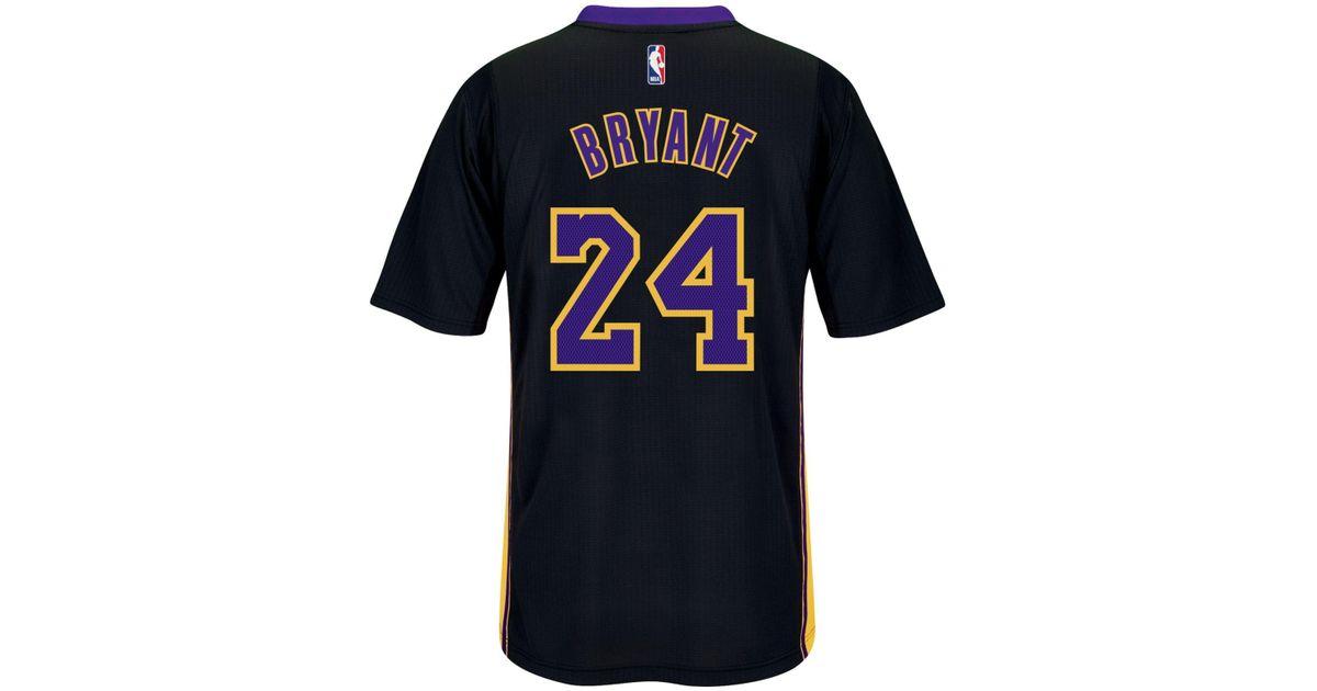 adidas Originals Men's Short-sleeve Kobe Bryant Los Angeles Lakers ...