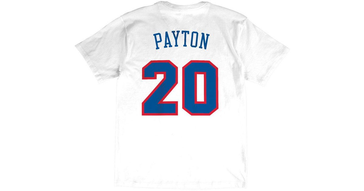 buy online 312ae 3da3f Mitchell & Ness White Gary Payton Nba All Star 1994 Name & Number  Traditional T-shirt for men
