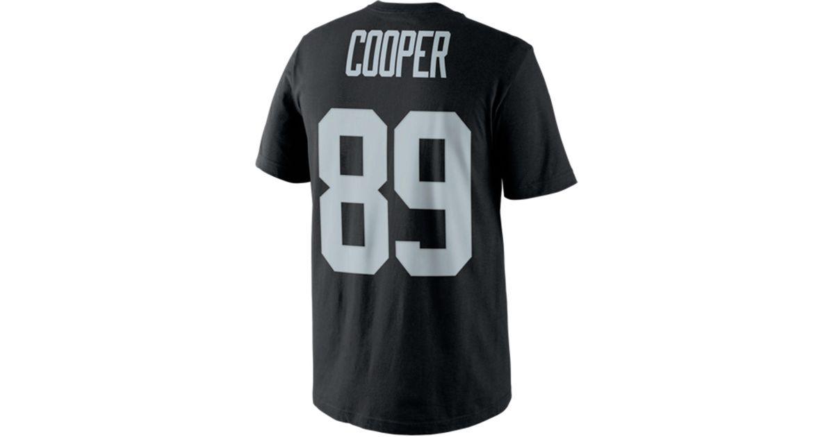 Lyst - Nike Men s Amari Cooper Oakland Raiders Pride Player T-shirt in Gray  for Men e321f6e3b