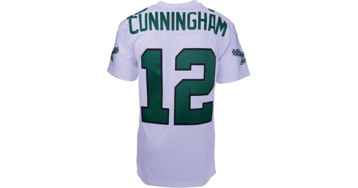 best sneakers ab5d8 5d86a Mitchell & Ness Synthetic Men's Randall Cunningham ...