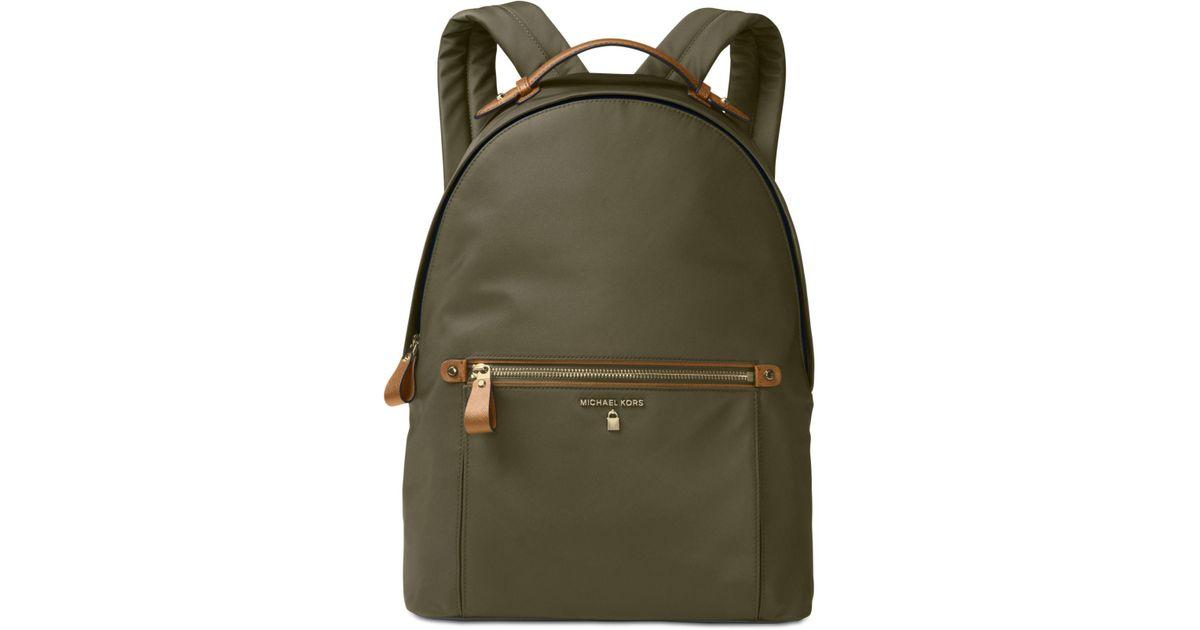 12e7d926541cc3 Michael Kors Kelsey Large Backpack in Green for Men - Lyst