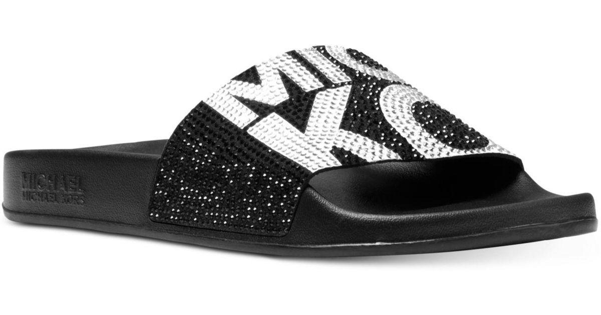 Michael Kors Gilmore Pool Slide Sandals