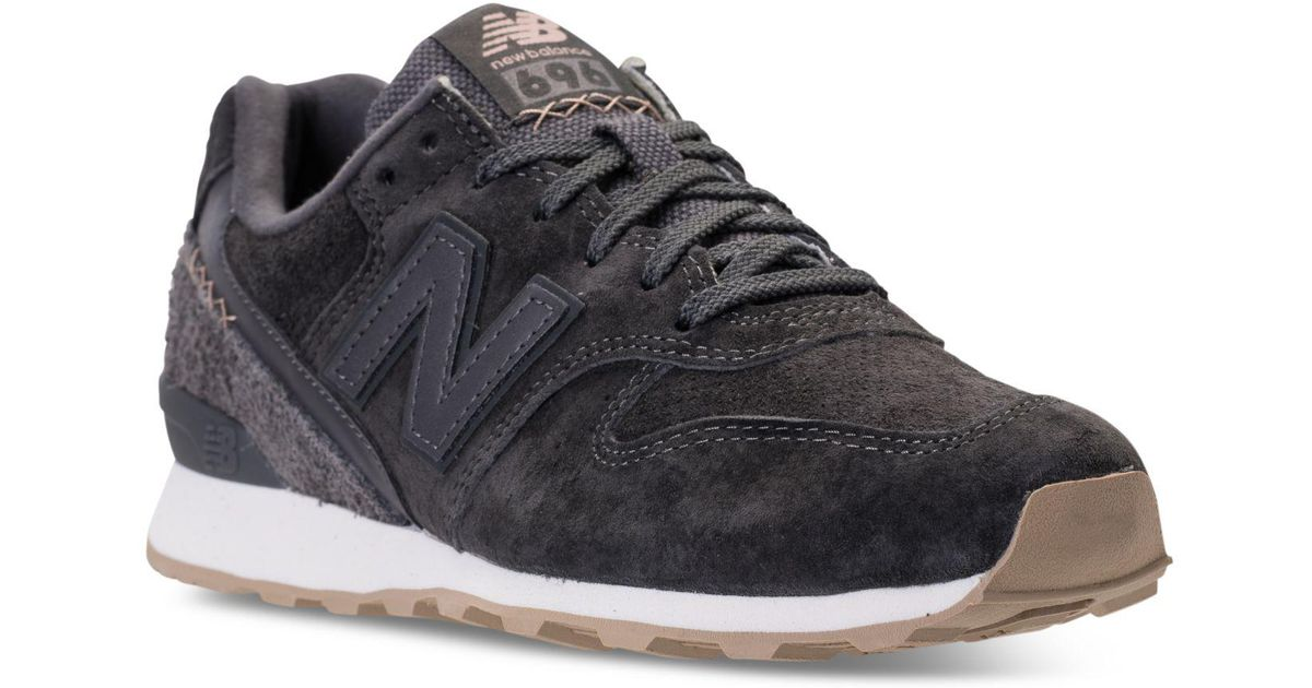 New Balance Multicolor Women's 696 Suede Casual Sneakers From Finish Line