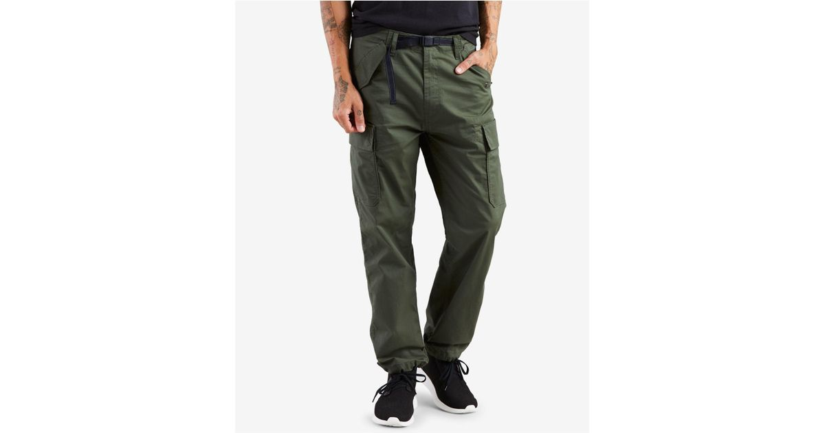 5abbb9a5 Levi's Banded Carrier Cargo Pants in Green for Men - Lyst