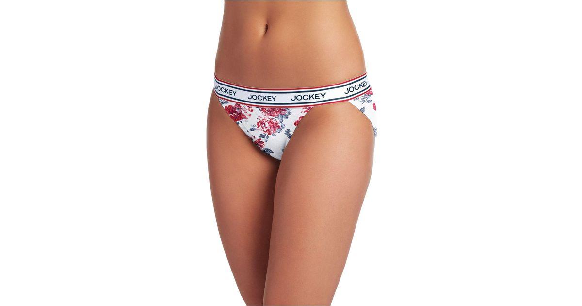 748d270d253 Jockey Retro Stripe String Bikini 2252