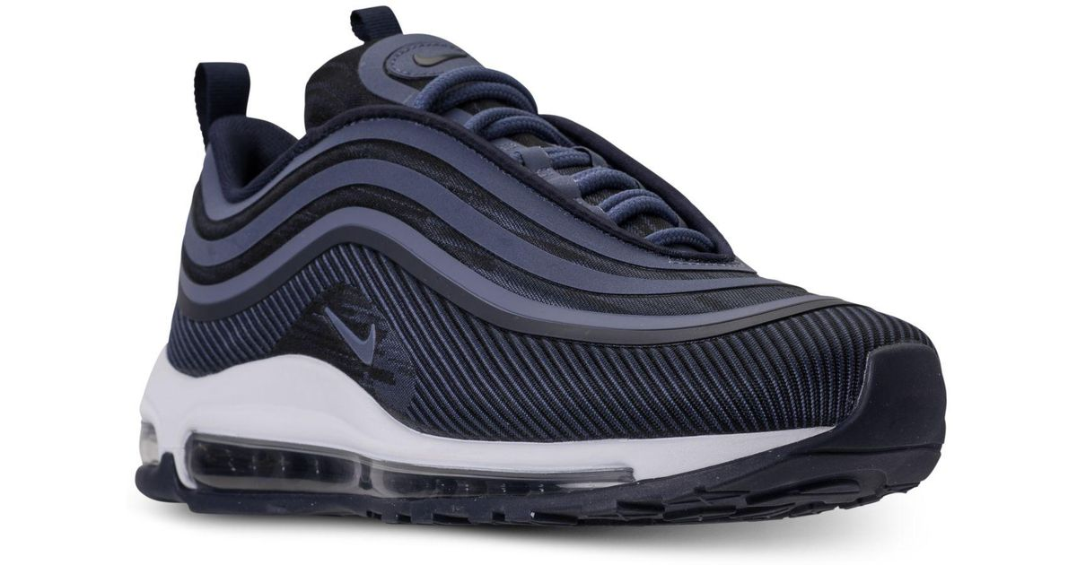 Nike Blue Air Max 97 Ul 2017 Running Sneakers From Finish Line for men