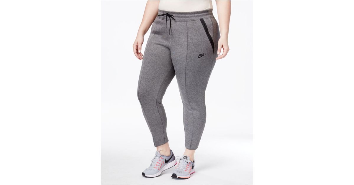 60b4830a668 Lyst - Nike Plus Size Futura Pants in Gray