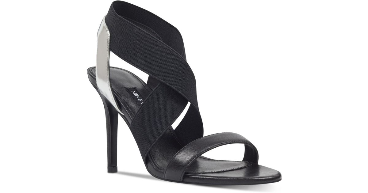 14efccef7 Lyst - Nine West Maya Dress Sandals in Black