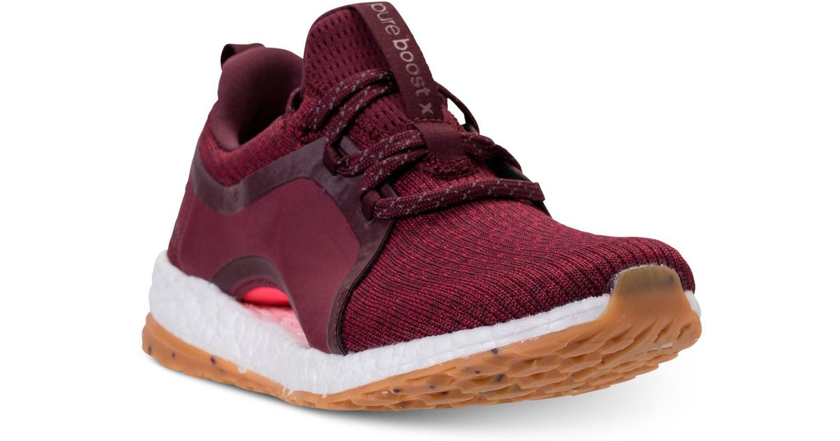 237a68037ad5a Lyst - adidas Pureboost Xpose Atr Running Sneakers From Finish Line in Red