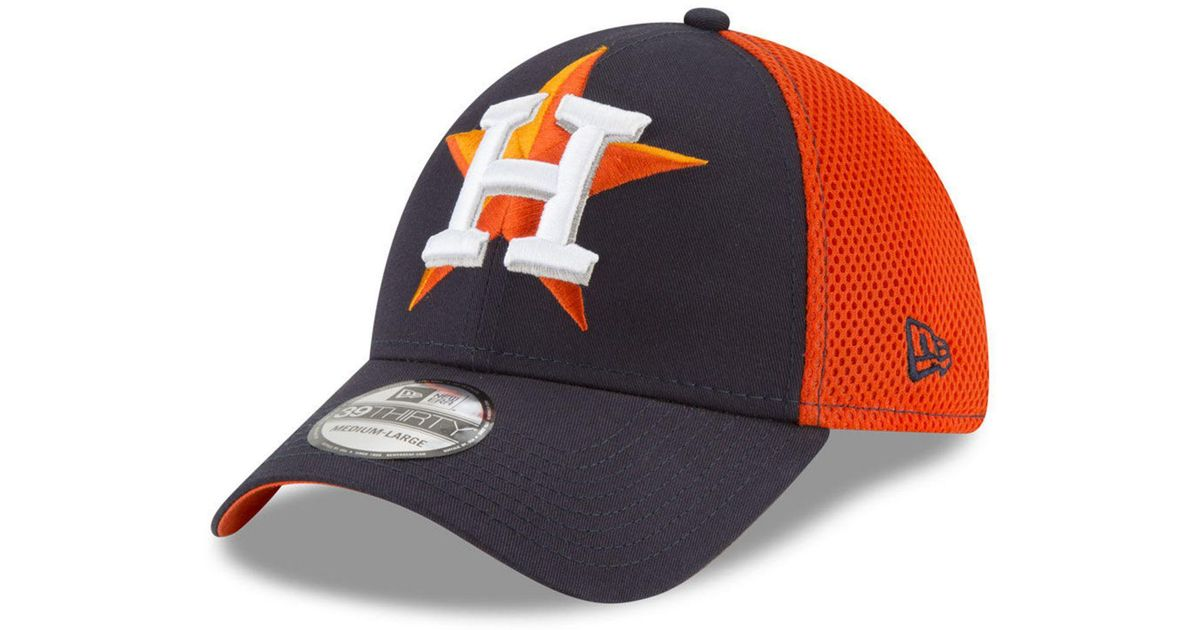 100% authentic e4322 1badc KTZ Houston Astros Mega Team Neo 39thirty Cap in Blue for Men - Lyst
