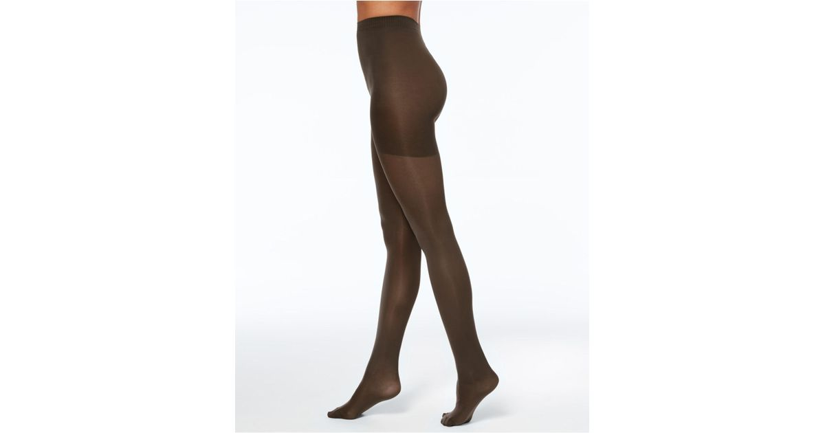 6a5b1ec5836 Lyst - Hanes Perfect Opaque X-temp Tights in Brown