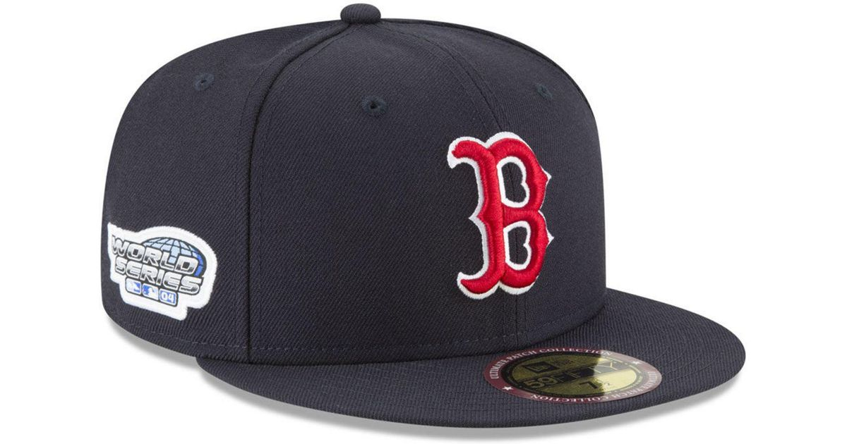 promo code 6492e f3619 Lyst - Ktz Boston Red Sox Ultimate Patch Collection World Series 2.0 59fifty  Fitted Cap in Blue for Men