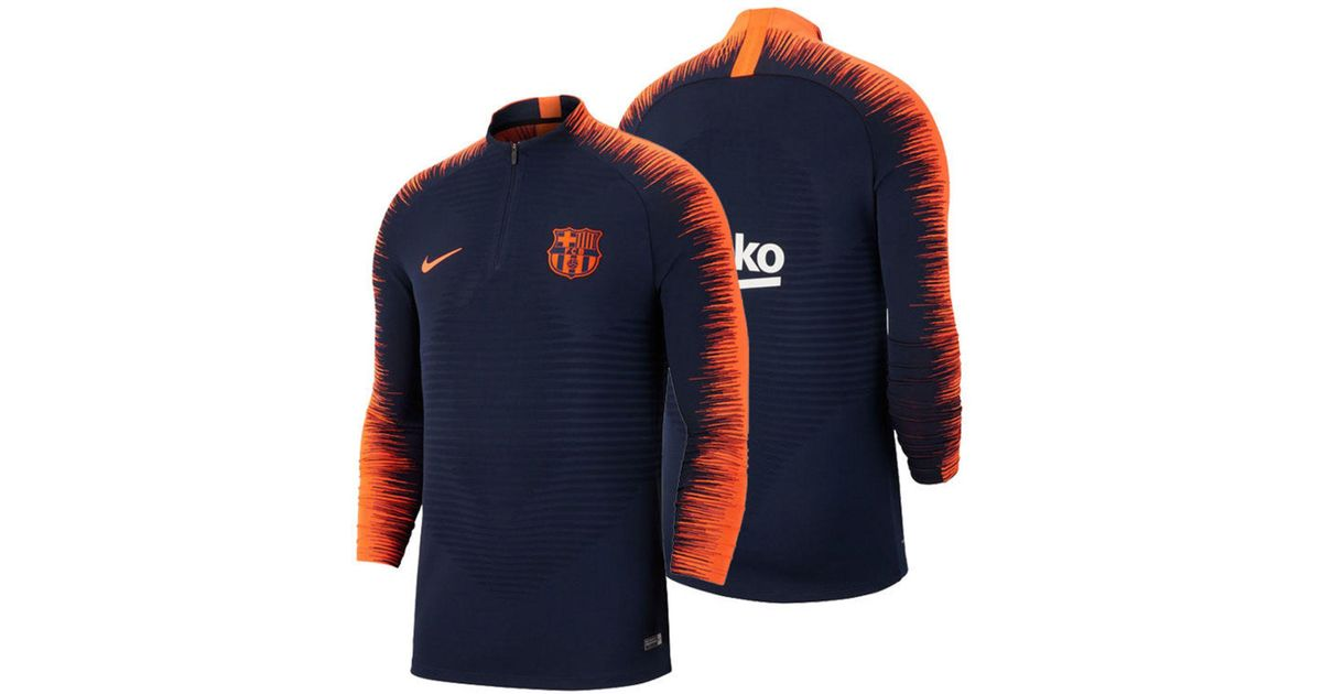 e9dc84655c8 Clothing, Shoes & Accessories Nike FC Barcelona VaporKnit Strike Drill Top  Obsidian Hyper Crimson 943165-452 Activewear