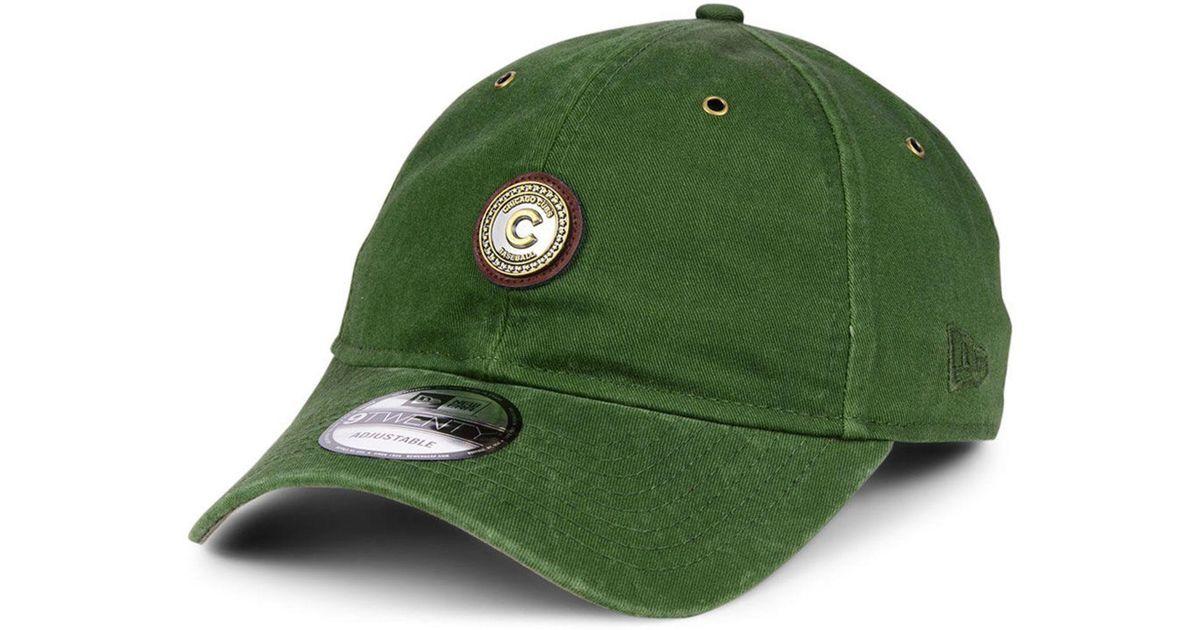 d7a8f46ce6e8dd Lyst - Ktz Chicago Cubs Coin 9twenty Cap in Green for Men